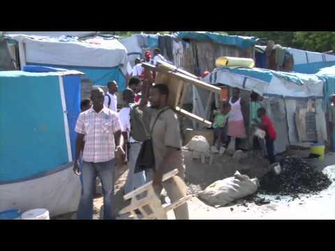Haiti Earthquake (January 2010): Red Cross Prepares in Haiti for Hurricane Tomas