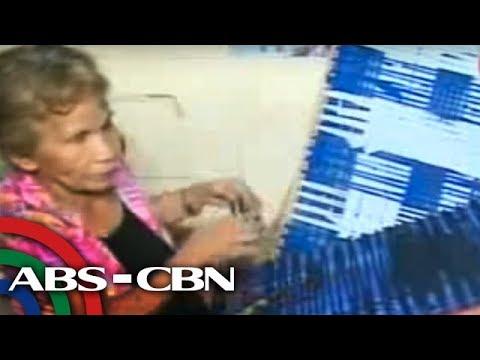 TV Patrol Panay - PWD, Senior Citizen at Single Mother tinataguyod ang  pamilya sa paghabi ng doormat
