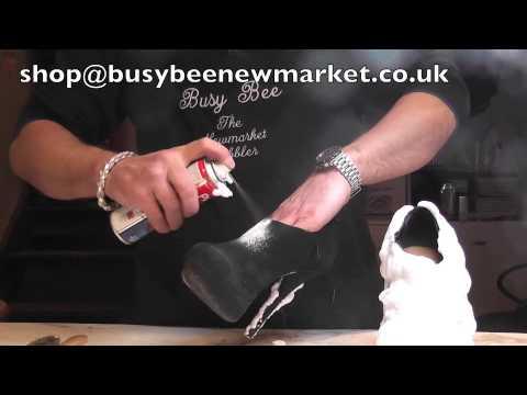 Clean your black suede shoes www.pickupmyrepair.co.uk