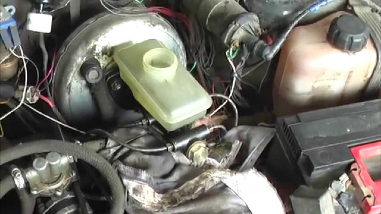 Замена ГТЦ и прокачка тормозов на ИЖ ОДА или Фабула - YouTube