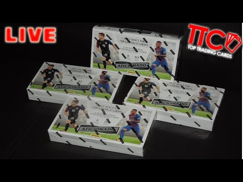 PANINI AFICIONADO SOCCER PREMIUM BOX BATTLE | TILO vs. VOGEL - PACK vs. PACK