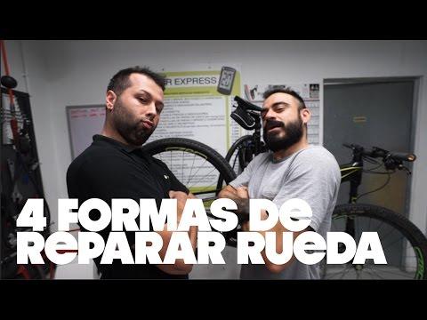 4 FORMAS DE REPARAR PINCHAZOS