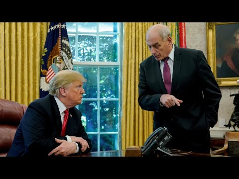 جون كيلي كبير موظفي البيت الأبيض وأقرب مستشاري ترامب يغادر منصبه نهاية العام  - نشر قبل 2 ساعة
