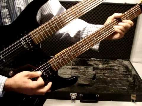 1991 ibanez 540stn double neck guitar japan detailed youtube. Black Bedroom Furniture Sets. Home Design Ideas
