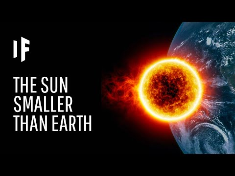 What If The Sun Was Smaller Than The Earth?