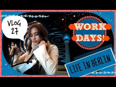 VLOG | Follow Me Around! Working Days & General Shopping - Life In Berlin