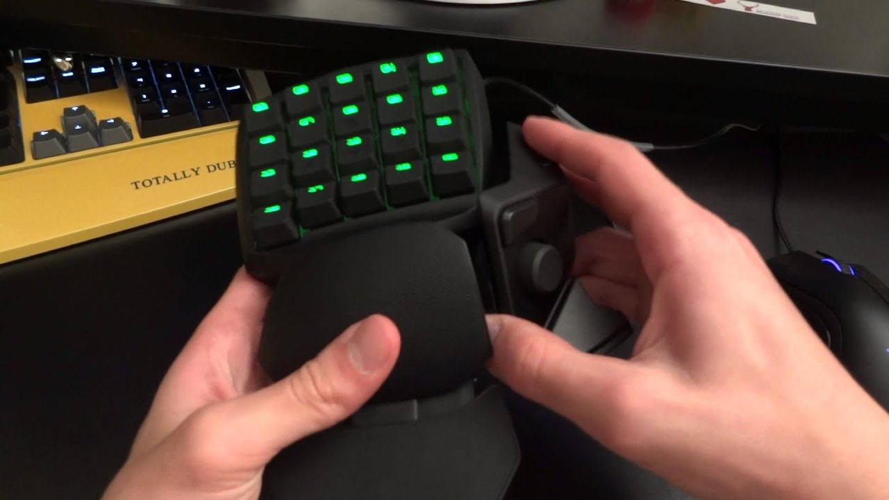 Review of the Razer Orbweaver Stealth Mechanical Gaming Keypad - By TotallydubbedHD - YouTube