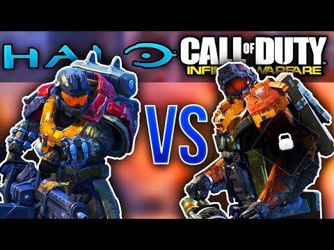 Call Of Duty Infinite Warfare STEALS From Halo!