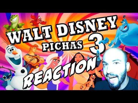 WALT DISNEY Pichas 3 | HDub | Video Reaccion | Reaction | Español