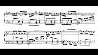 J. S. Bach, dalla pastorale BWV 590 per organo