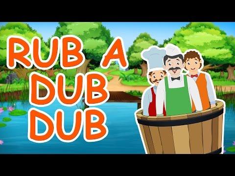 Rub A Dub Dub Nursery Rhyme || Nursery Rhymes With Max And Louie