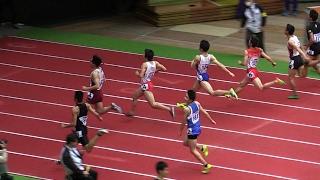 室内陸上2017 男子中学 60m 決勝 6秒90