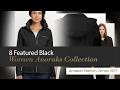 8 Featured Black Women Anoraks Collection Amazon Fashion, Winter 2017