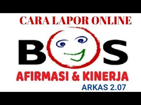 Cara Lapor Online Bos Afirmasi Kinerja Di Arkas 2 07 Youtube