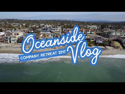 A company retreat in Oceanside, California | Travel vlog