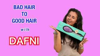 Bad Hair To Good Hair | Dafni Review | Hair Transformation | V-Log teaser