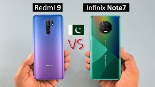 Redmi 9 vs Infinix Note 7 Full Comparison with Complete Specifications