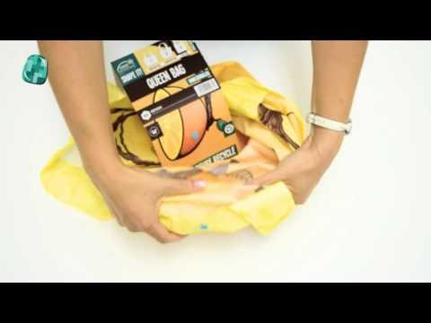 Jak poskládat ekotašku - How to pack eco bag