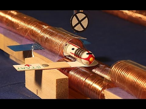 How to Build the Simplest Electric Train