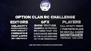 'BEST CLAN' Option Clan Fortnite And Call Of Duty Clan Recruitment Challenge