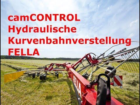 Hydraulische Kurvenbahnverstellung - Höchste Bodenfreiheit
