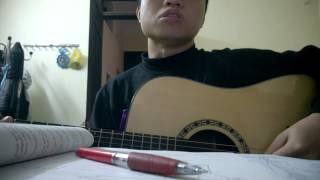 vết mưa - cover guitar
