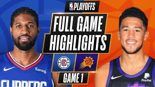 #4 CLIPPERS at #1 SUNS | FULL GAME HIGHLIGHTS | June 20, 2021
