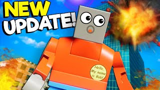 NEW UPDATE PHYSICS! Tower Survival, Lego Nukes, Car Crashes! ! - Brick Rigs Update Gameplay