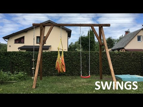 swings build | how to make swings on cheap | diy