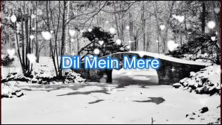 Gulaabi Aankhen Jo Karaoke & Lyrics