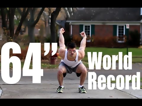 New World Record Highest Vertical Jump By A Human | CHEAT CODES