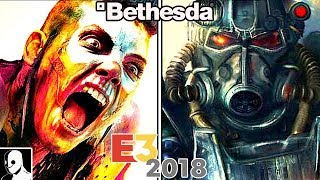 E3 2018 Bethesda Press Conference The Elder Scrolls 6, Starfield, Fallout 76, Rage 2