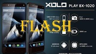 How  to flash xolo 8X-1020