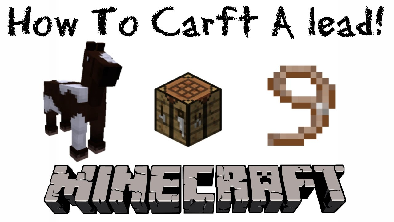 how to make a lead in minecraft. Fine How In How To Make A Lead Minecraft N