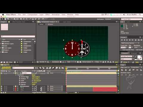 After Effects CS6 -  The Timeline