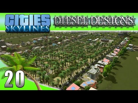 Cities: Skylines: EP20: Golf Course and Country Club! w/DL link! (City Building Series 60FPS)