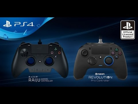 First Look At Two New Pro Controllers For Ps4 Razer Raiju And Nacon Revolution Youtube Designed to sync with your mobile device, it's packed with advanced features to give you the ultimate competitive. first look at two new pro controllers for ps4 razer raiju and nacon revolution
