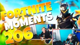 Tfue's HILARIOUS Celebration with his Dad! (GIANT EMOTES TRICK!) | Fortnite Funny Moments Ep. 206
