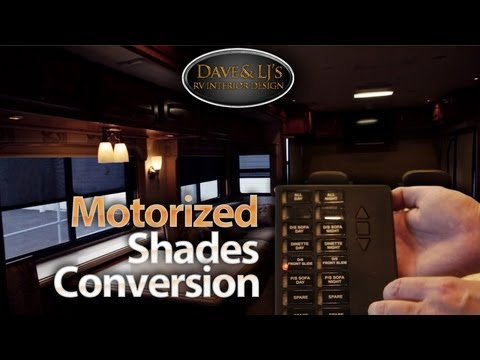 Auto Motion Shades Rv Day Night Roller Shades How To