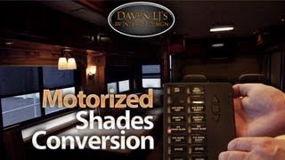 Auto Motion Shades RV day night roller shades