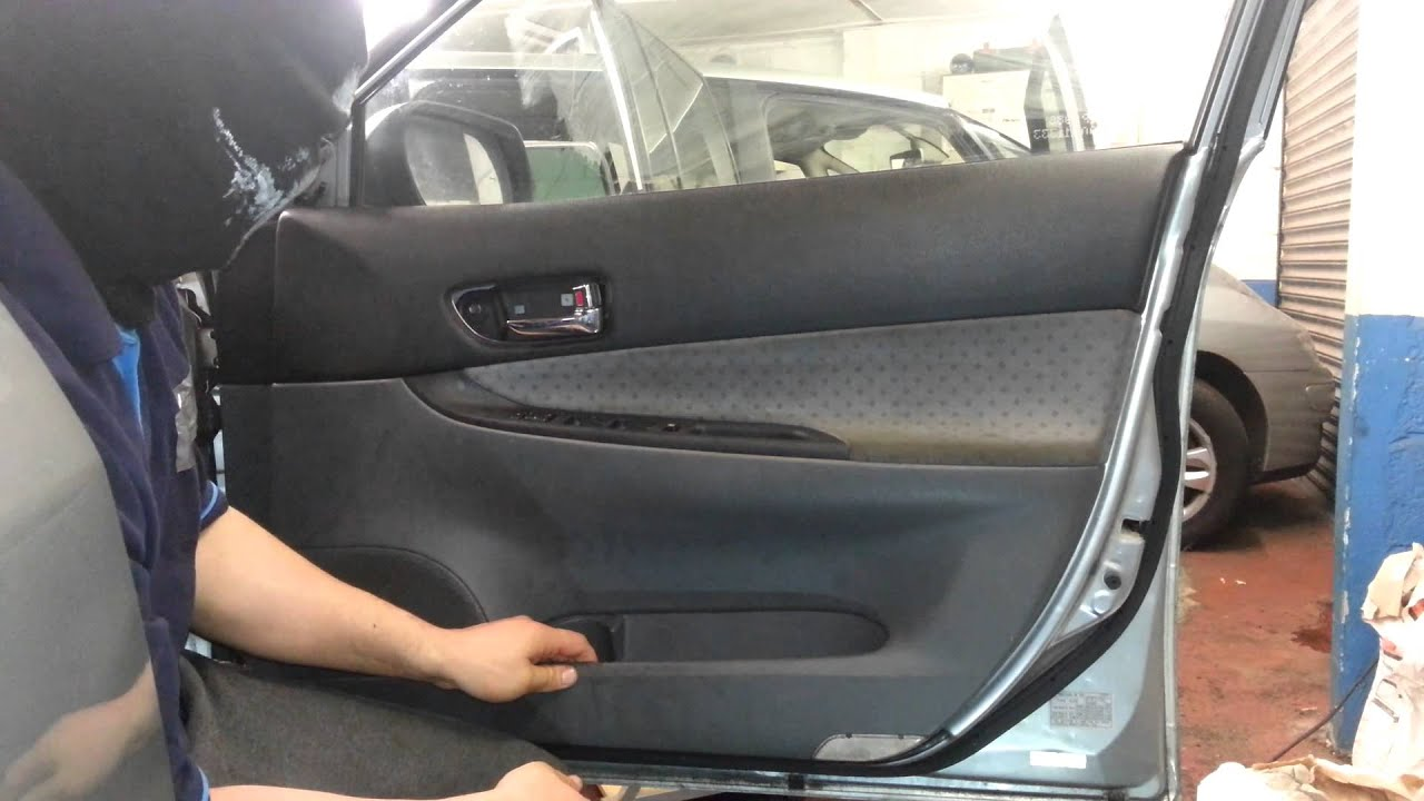 maxresdefault how to change replace front door panel mazda 6 driver side youtube  at bakdesigns.co