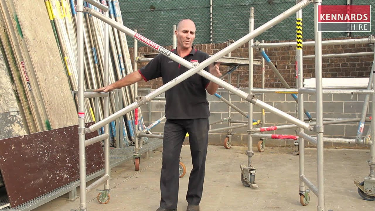 Three Types Of Scaffolding : Scaffolding types and range youtube