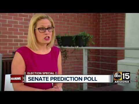 Poll: Kyrsten Sinema takes lead in race for U.S. Senate seat in Arizona