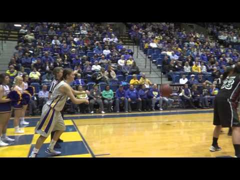 WBB Highlight: Macy Miller Sneaky Inbounds Score vs Wisconsin-Green Bay
