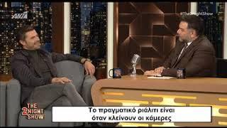 The 2night Show: Ο Χρήστος Βασιλόπουλος μιλαέι για το Nomads