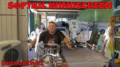 HARLEY DAVIDSON 2018 SOFTAIL WINDSCREEN INSTALL