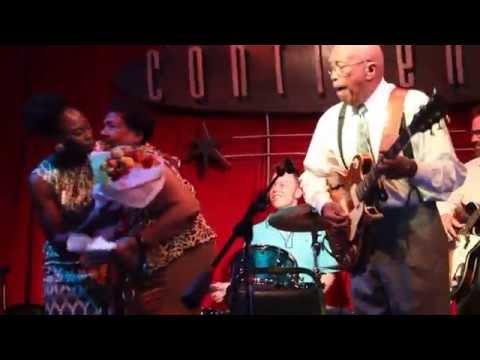 Houston legends Milton Hopkins & Jewel Brown - Dialtone Records CD Release Party
