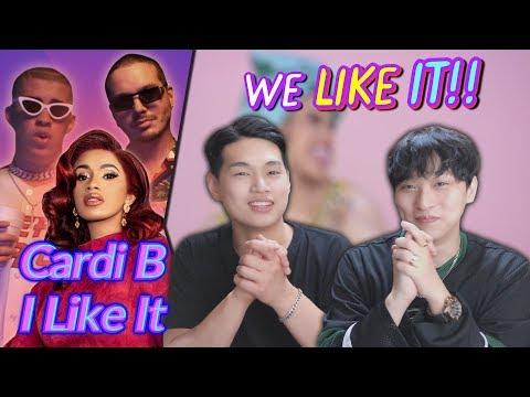 K-pop Artist Reaction Cardi B Bad Bunny & J Balvin - I Like It