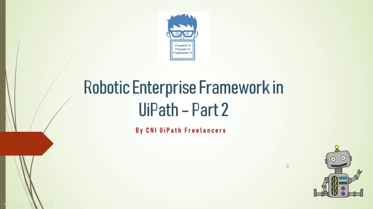 UiPath RE Framework Part 2 (Hindi)