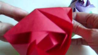 Modular Origami: Magic Rose Cube
